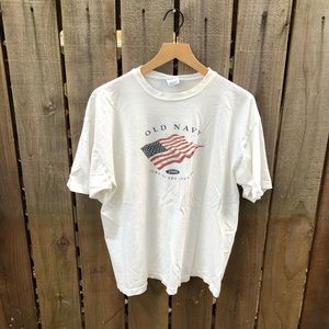 Vintage Old Navy USA Men's Shirt
